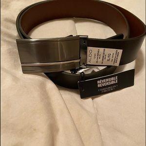 ALDO reversible belt NWT size XL/TG